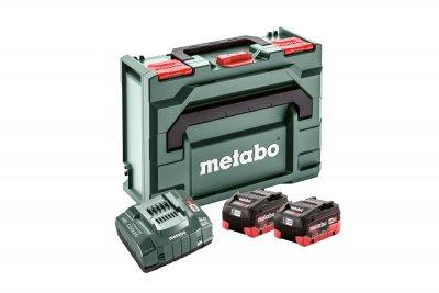 METABO akkumulátor szett 2 X 10,0 Ah LiHD + ASC 145 MetaBox kofferben   METABO 685131000