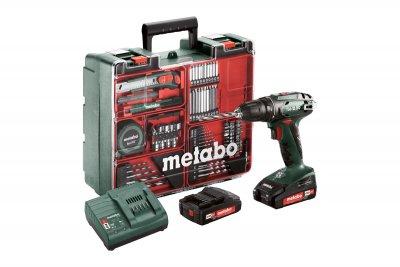 METABO BS 18 Set mobilműhely  18 V 2 x 2,0 Ah   METABO 602207880