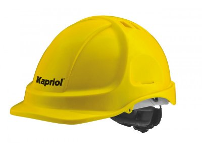 Védősisak sárga   KAPRIOL 32562