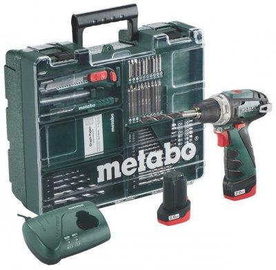 METABO PowerMaxx BS Basic akkus fúró - csavarozó mobilműhely 2 x2Ah   METABO 600080880
