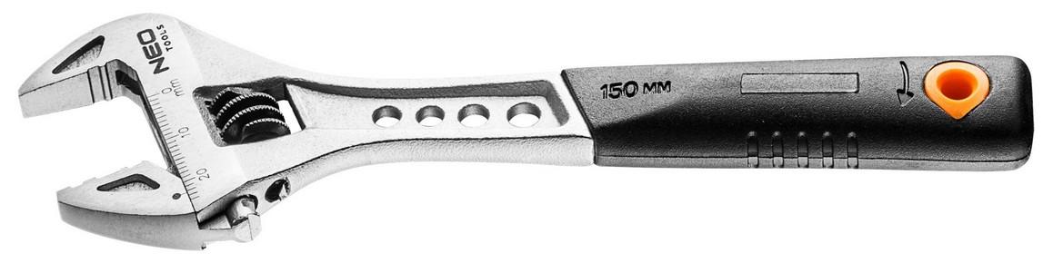 Állítható csavarkulcs 0 mm - 24/150 mm   NEO 03-010