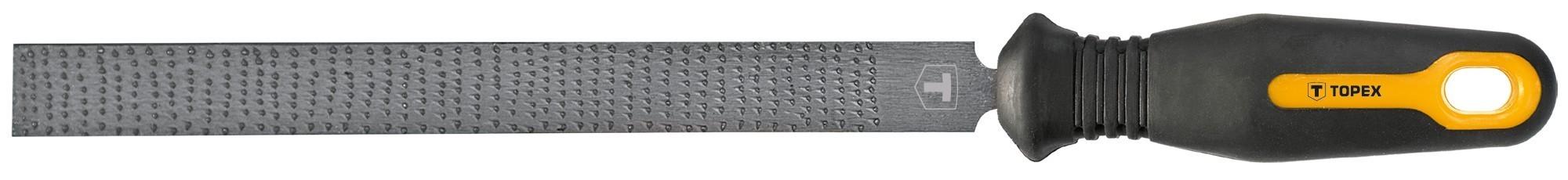 Ráspoly, fareszelõ 200 mm / 2 mm lapos | TOPEX 06A831