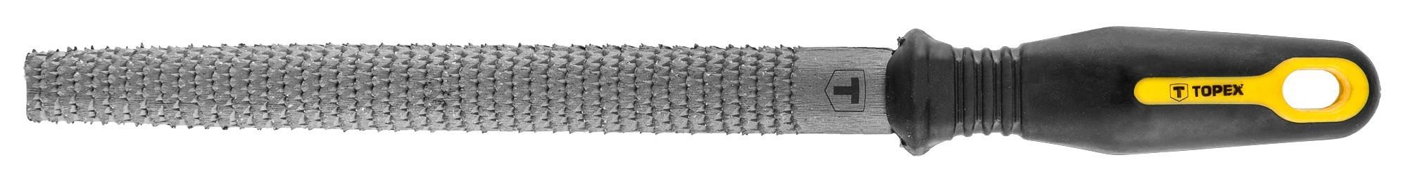 Ráspoly, fareszelõ 200 mm / 2 mm félkerek | TOPEX 06A832