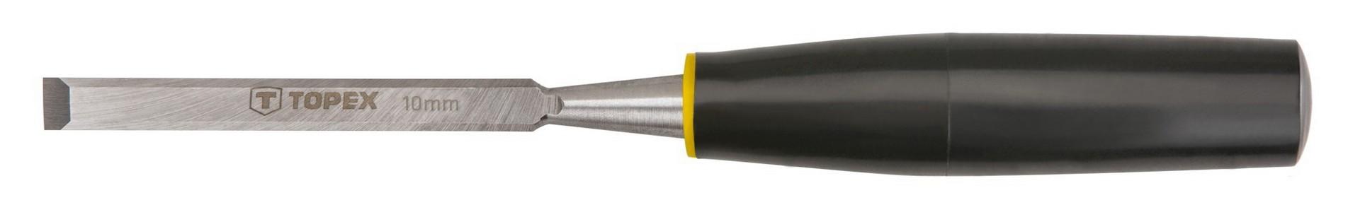 Favésõ 10 mm lapos, mûanyag nyelû | TOPEX 09A110
