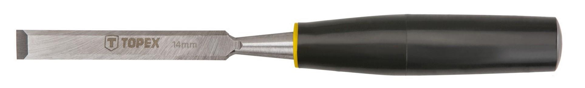 Favésõ 14 mm lapos, mûanyag nyelû | TOPEX 09A114