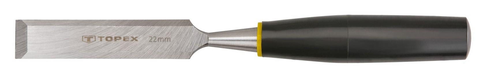 Favésõ 22 mm lapos, mûanyag nyelû | TOPEX 09A122