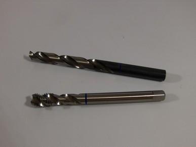 Menetfúró M4 x 0,7 mm HSS-E csavart Kék gyűrűs készlet | 36491