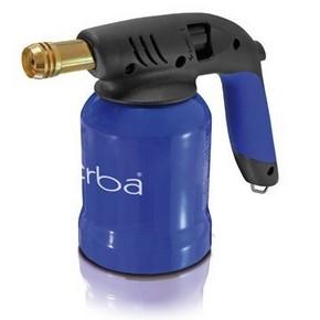 Forrasztólámpa fém, piezós, kék | ERBA 15103