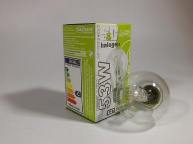 Izzó halogén Classic 53 W E27 2000 h | S&G A55