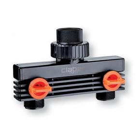 Locsoló zárható elosztó kétágú | CLABER 8589