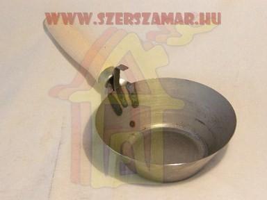Kõmûves serpenyõ 180 mm acél