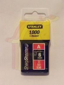Tûzõkapocs 6 mm 1000 db A-típusú, 3/53/530 | STANLEY 1-TRA204-T