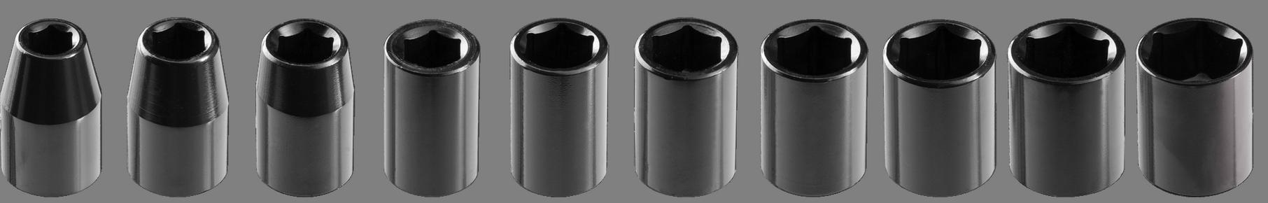 Dugókulcs készlet, krova készlet levegõs géphez 10 mm - 24 mm 1/2
