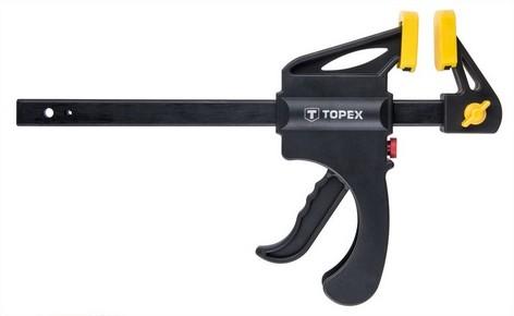 Pisztolyos szorító 150 mm x 60 mm | TOPEX 12A515