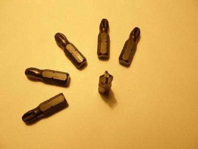 Bit fej, behajtó tüske PH3 25 mm   FELO/STANLEY 0-22-030