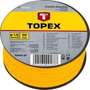 Kõmûves zsinór 50 m | TOPEX 13A905