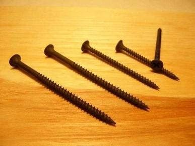 Gipszkarton csavar 3,5 mm x 45 mm fémmenetes