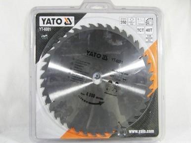 Körfûrésztárcsa, körfûrészlap 136/10 mm Z24 | YATO YT-6051
