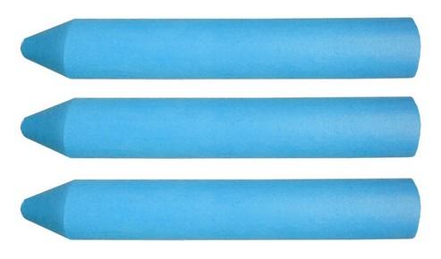 Zsírkréta 3 db, kék | TOPEX 14A954