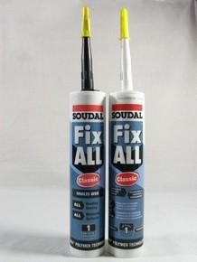Ragasztó fix-all classic 290 ml fekete | SOUDAL
