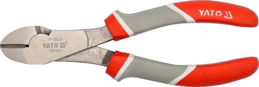 Oldalcsípő fogó 180 mm | YATO YT-2039