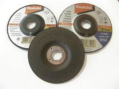 Csiszolótárcsa/tisztítótárcsa 125 mm x 6,4 mm fémhez  | MAKITA P-52984/80933