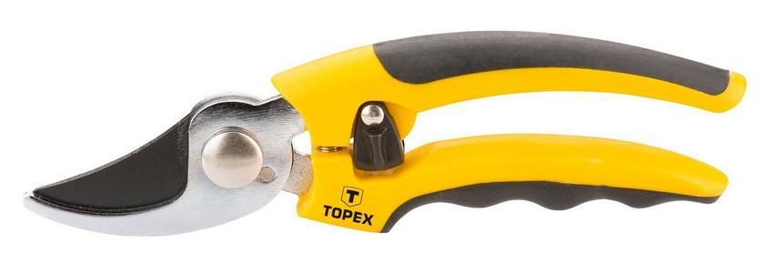 Metszõolló mellévágó, 185 mm,  10 mm vágókapacitás | TOPEX 15A200