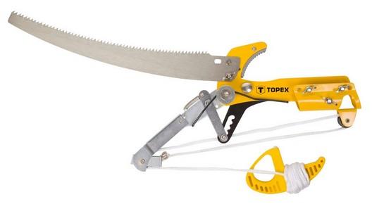 Ágvágó fûrész köteles, hernyózó, nyél nélkül | TOPEX 15A256
