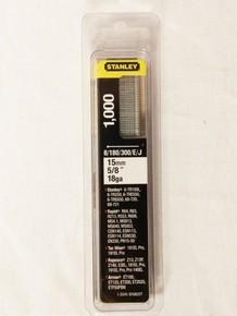 Tûzõszeg 15 mm, 1000 db, J-tíusú | STANLEY 1-SWKBN0625T