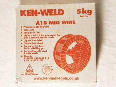 Huzalelektróda 1,0 mm  5 kg Cromwell   KENNEDY KEN8872000K