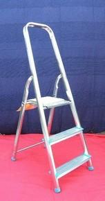 Létra 3 fokos háztartási alumínium létra Eco Plus | ZARGES 49053