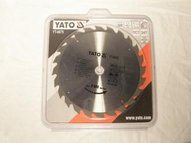 Körfûrésztárcsa, körfûrészlap 300/30 mm Z24 | YATO YT-6075