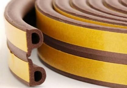 Ablak hőszigetelő profil barna