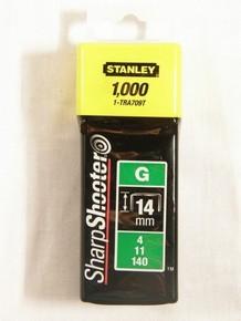 Tûzõkapocs 14 mm 1000 db G-típusú, 4/11/140 | STANLEY 1-TRA709-T