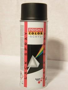 PRISMA COLOR akril alapú lakk spray 400 ml matt fekete RAL 9005 | PRISMA COLOR 91004
