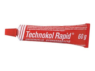 Ragasztó Technokol Rapid piros 60gr