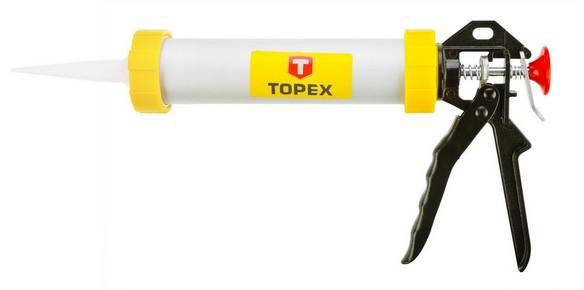 Kinyomópisztoly 300 ml, alumínium, kicsi | TOPEX 21B330