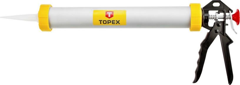 Kinyomópisztoly 600 ml, alumínium, nagy | TOPEX 21B360