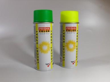 PRISMA COLOR világító festék spray 400 ml neonsárga | PRISMA COLOR 91060
