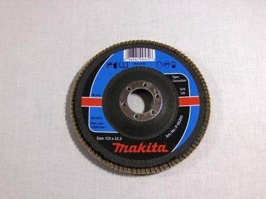 Csiszolókorong 125 mm K1200 legyezõlapos, fa-fém