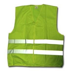 Munkavédelmi mellény fényvisszaverős zöld XXL 70262