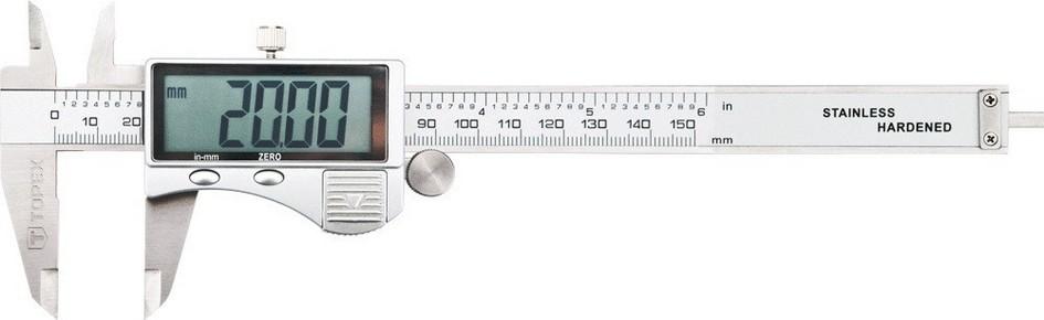 Tolómérõ 150 mm / 0,02 mm | TOPEX 31C624