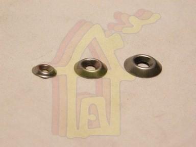 Kúpos alátét M4 fém