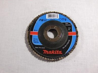 Csiszolókorong 115 mm K60legyezõlapos, fa-fém