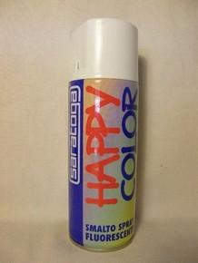 Happy Color fluoreszkáló festék spray 400 ml sárga   SARATOGA 88177001