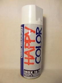 Happy Color rozsdagátló festék spray 400 ml inox | SARATOGA 88171001