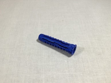 Mûanyag dûbel 6 mm x 30 mm 4ALL univerzális, nylon sötétkék   RAWLPLUG