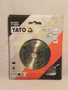 Körfûrésztárcsa, körfûrészlap 130/16 mm Z24 | YATO YT-6050