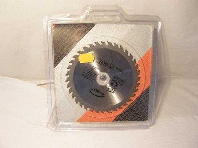 Körfűrésztárcsa, körfűrészlap 160/30 mm Z36 | YATO YT-6057