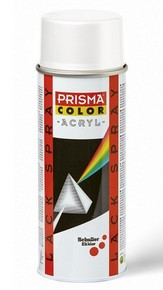 PRISMA COLOR akril alapú lakk spray 400 ml fehér RAL 9016 | PRISMA COLOR 91310